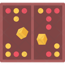 Backgammon Board Fun Icon