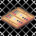 Backgammon Board Board Game Backgammon Icon