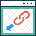 Backlinks Link Building Icon