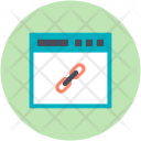 Backlink Linking Attach Icon