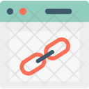 Backlink Chain Link Hyperlink Icon