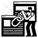 Backlink Link Hyperlink Icon
