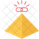 Pyramid Link Url Icon