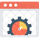 Backlinks Link Building Speedometer Icon