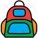 Backpack School Education Icon