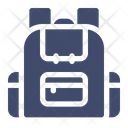 Bag Adventure Backpack Icon