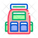 Travel Camping Backpack Icon
