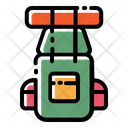 Backpack Bag Camping Icon