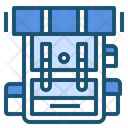 Backpack Camping Travel Icon