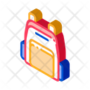 Backpack Rucksack Object Icon