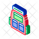 Backpack Tent Travel Icon