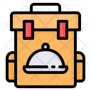 Backpack Bag Food Icon