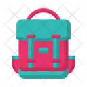 Backpack Adventure Summer Icon