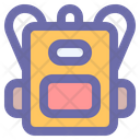 Backpack Education Student Icon
