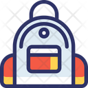 Backpack Adventure Camp Icon