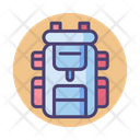 Backpack Carrier Camping Icon