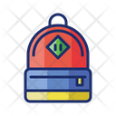 Backpack Bag Travel Bag Icon