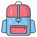 Backpack Carry Stationary Icon