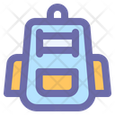 Backpack Education School Icon