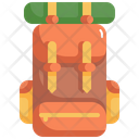 Outdoor Bag Backpack Icon
