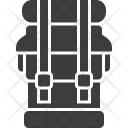 Backpack Camping Tour Icon