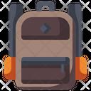Backpack Backpacker Travel Bag Icon