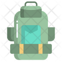 Backpack Camping Bag Traveling Bag Icon