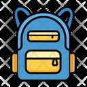Backpack Bag School Icon