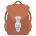 Backpack Luggage Carriage Icon