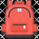 Knapsack Rucksack Backpack Icon