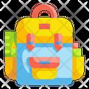 Backpack Ravel Luggage Icon