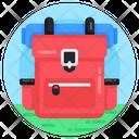 Knapsack Backpack Rucksack Icon