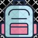 Backpack Bag Book Bag Icon