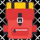 Backpack Shoulder Bag Knapsack Icon
