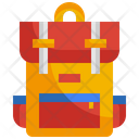 Backpack School Bag Icon