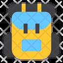 Backpack Travel Bag Hiking Icon
