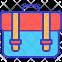 School Bag Bag Backpacker Icon
