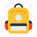 School Bag Rucksack Haversack Icon