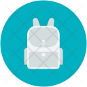 Backpack Bag Book Icon
