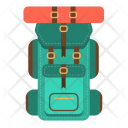 Backpack Bag Treckking Icon