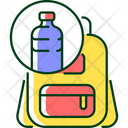 Backpack Recycle Plastic Icon