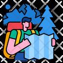 Backpacker Traveler Travel Icon