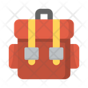 Adventure Backpack Backpacking Icon