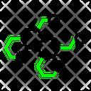 Backpropagation Icon