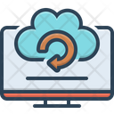 Backup System Recovery Icon