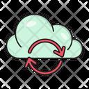 Backup Cloud Sync Icon
