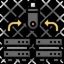 Backup Transfer File Save File Icon