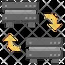 Backup Transfer Data Big Data Icon