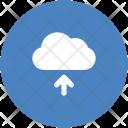 Backup Blue Cloud Icon
