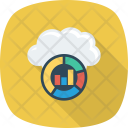 Backup Cloud Graph Icon